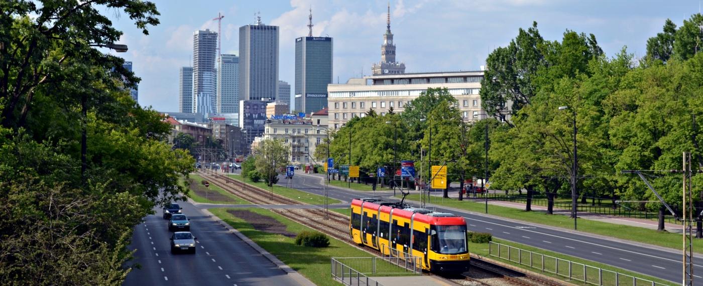 Warszawa Skyline 2012